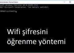 Bilgisayarınıza kayıtlı Wifi ağları gör, Şifre öğren ve Silme hakkında.